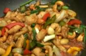 Oriental Cashew Chicken